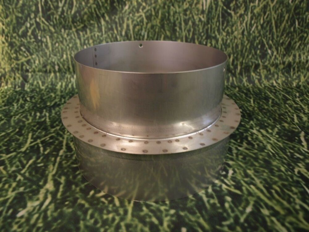 "8"" to 9"" Stainless Steel Stove Pipe Reducer"