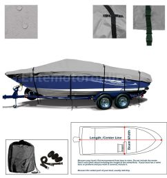 details about lund 1775 pro v all weather trailerable fishing bass ski jon boat cover grey [ 1000 x 1000 Pixel ]