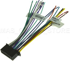 22PIN WIRE HARNESS FOR KENWOOD DDX6019 KVT512 KVT514
