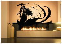 Wall Decor Vinyl Sticker Mural Poster Bleach Anime Cartoon ...