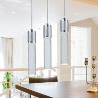 Contemporary Bubble Crystal LED Pendant Lamp Ceiling Light ...