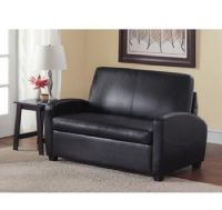 Sofa Bed Sleeper Sofabed Pull Out Couch Faux Leather ...