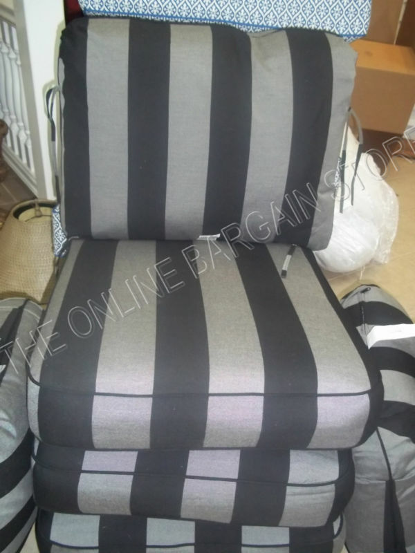Black Chair Cushions