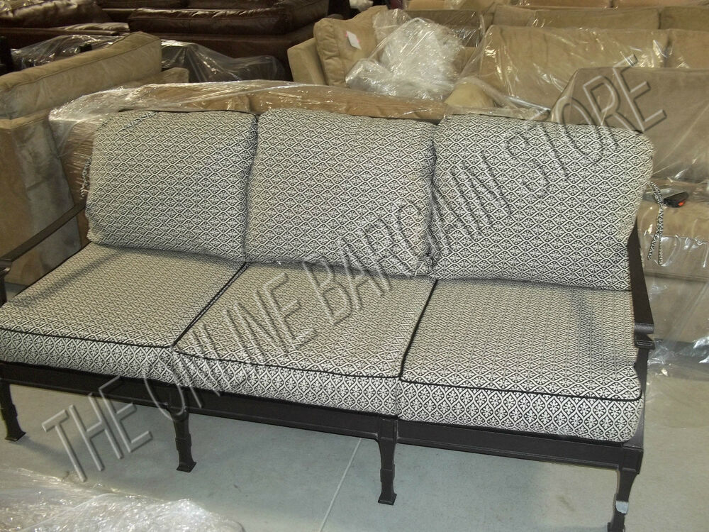 Frontgate Carlisle Outdoor Sofa Cushions Replacement Chair