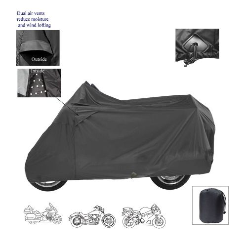 small resolution of details about ice bear powersports deluxe motorcycle scooter bike all weather storage cover