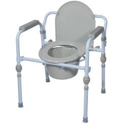 Handicap Potty Chair Kids Anywhere New Folding Commode Seat Bucket Set Portable Camping Adult Bed Side Toilet | Ebay