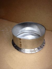 8 Inch Stove Pipe Tee Cap