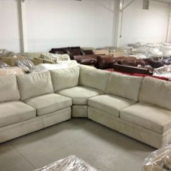 Sectional Sofa Deals Free Shipping Rattan Table Pottery Barn Pb Pearce Couch Everyday Stone ...