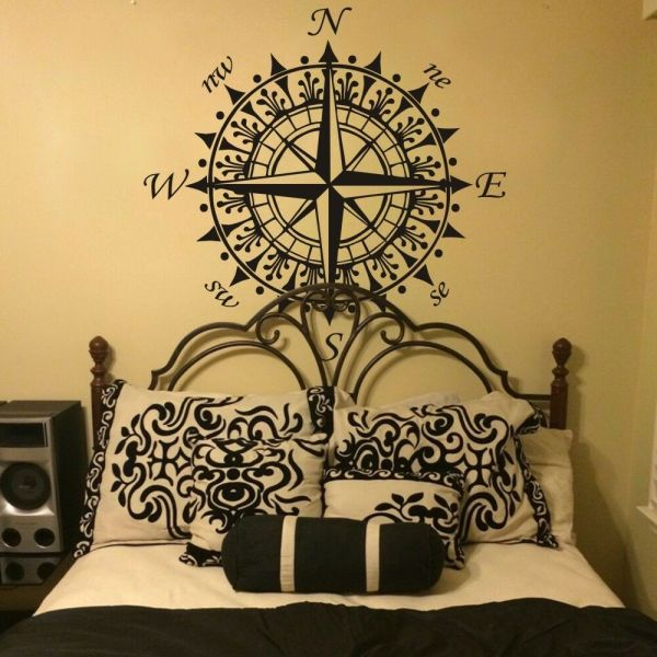 Compass Rose Nautical Wall Decal Inspiration Vinyl Baby