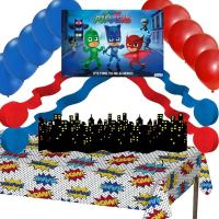 PJ Masks Party Decorations: Poster Balloons Streamers ...