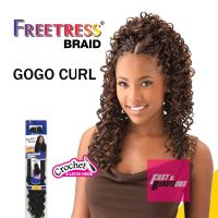 Freetress Premium Synthetic Hair Braid Crochet - GOGO CURL ...