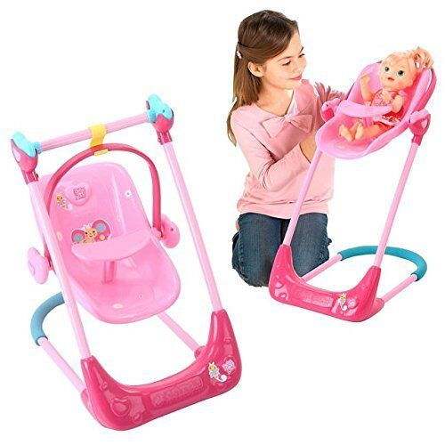 Baby Alive Swing, High Chair And Car Seat 3in1 Combo Ebay
