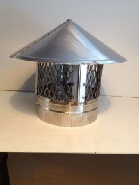 7 inch stove pipe Stainless Steel Chimney Cap