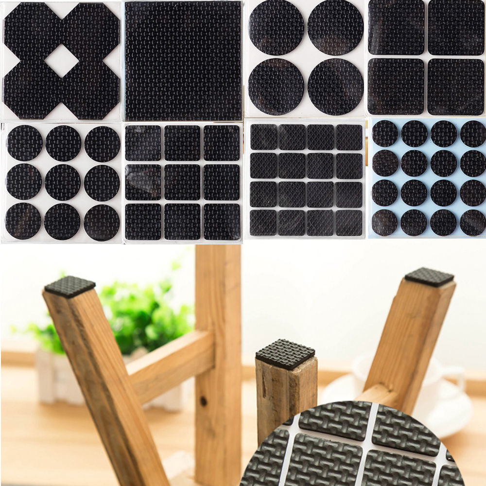 AntiSkid Rubber Furniture Protection Pads Self Adhesive