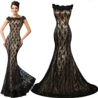 Off Shoulder Long Masquerade Ball Gown Bridesmaids Formal ...