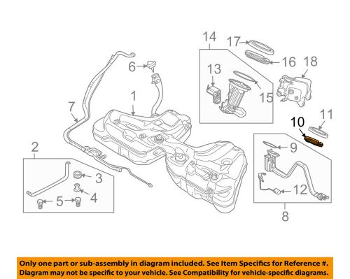 small resolution of details about bmw oem 04 10 x3 3 0l l6 fuel system fuel filter adapter 16146750466