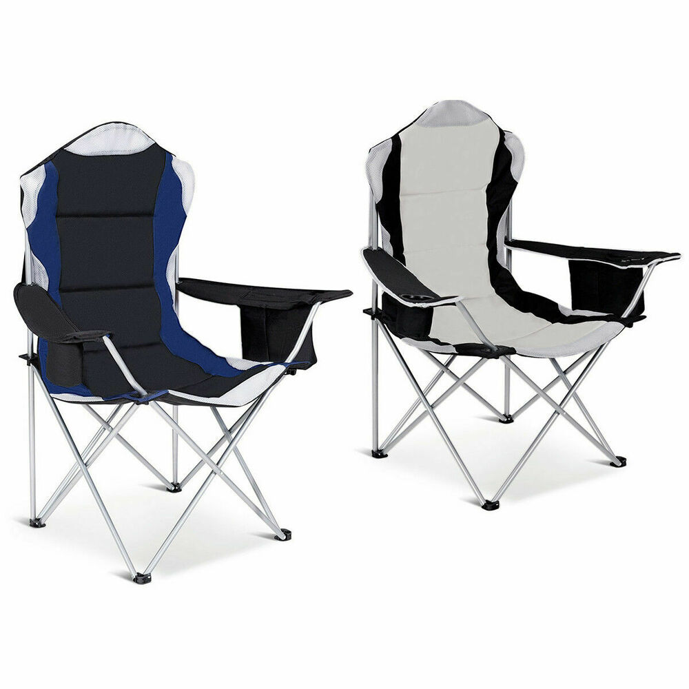 Fishing Camping Chair Seat Cup Holder Beach Picnic Outdoor