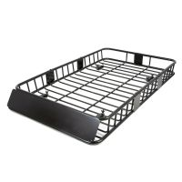 64'' Roof Rack Cargo Top Luggage Holder Carrier Basket w ...