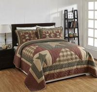 """4 Piece QUEEN """"PLYMOUTH"""" Quilted Bedding SET ~ Country ..."""