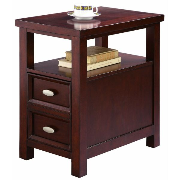 Night Stand Side Table End Living Bed Room Furniture Wood Drawer Shelf Storage