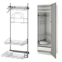 ikea Cleaning Interior/ pull out kitchen storage laundry ...