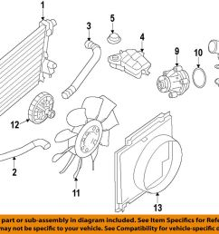 details about ford oem engine coolant thermostat housing 9l3z8592b [ 1000 x 829 Pixel ]