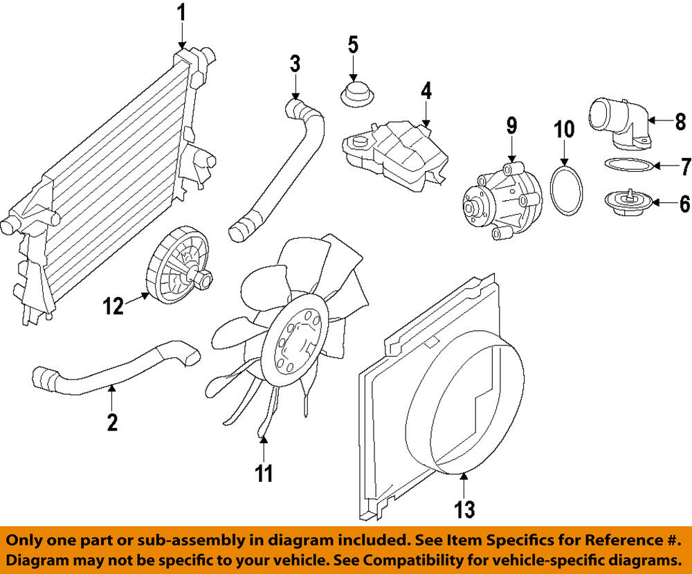 medium resolution of details about ford oem engine coolant thermostat housing 9l3z8592b