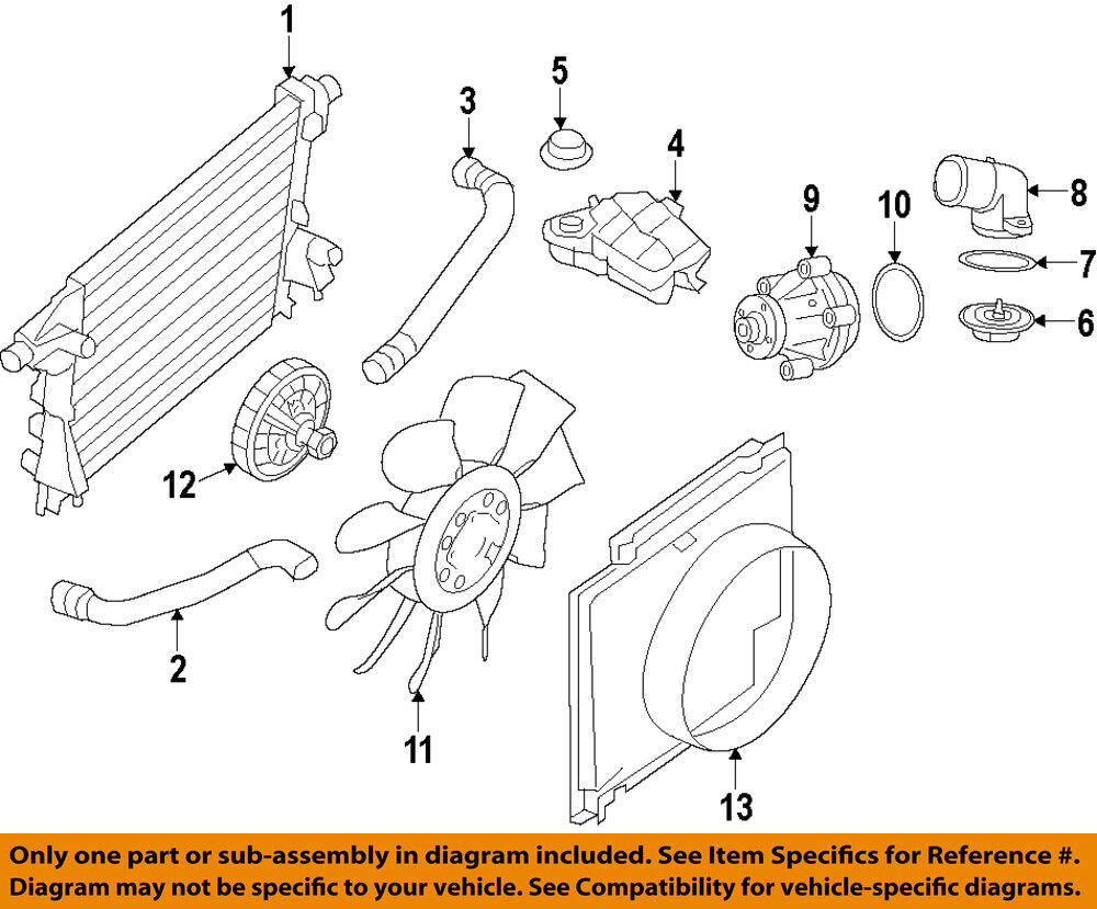 hight resolution of details about ford oem engine coolant thermostat housing 9l3z8592b