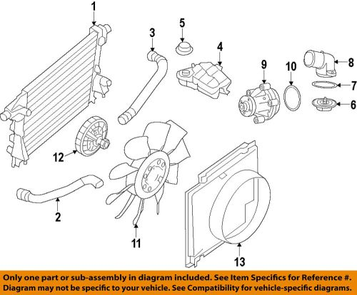 small resolution of details about ford oem engine coolant thermostat housing 9l3z8592b
