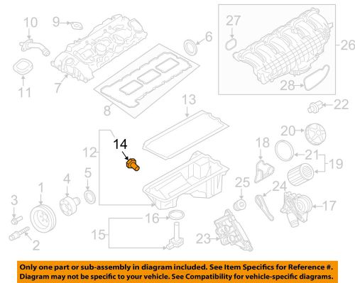 small resolution of details about bmw oem 15 18 m4 3 0l l6 engine oil drain plug 11117849396