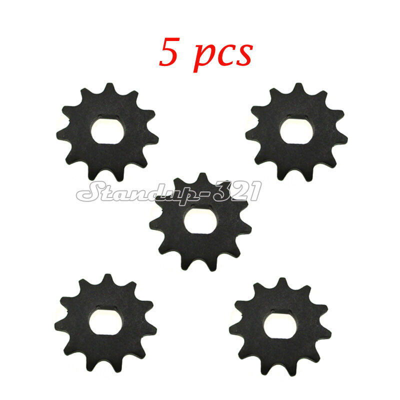 5pcs Electric Scooter 11 Teeth Sprocket T8F Chain Motor