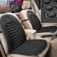 Office Chair Seat Covers Black Horseshoe Rocking Orthopaedic Car Van Cushion Front Cover Protect Back Support 5056074344644 | Ebay