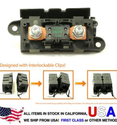 125 amp fuse box wiring diagramlittlefuse expandable mega fuse holder with 125a megafuse 125 ampdetails about [ 1000 x 1000 Pixel ]