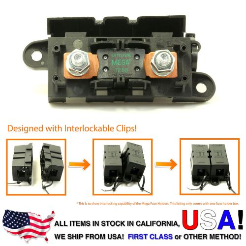 small resolution of 125 amp fuse box wiring diagramlittlefuse expandable mega fuse holder with 125a megafuse 125 ampdetails about
