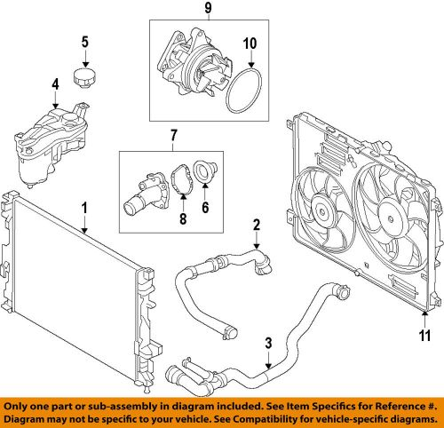 small resolution of land rover oem 12 17 range rover evoque cooling system fan assembly lr094390 ebay
