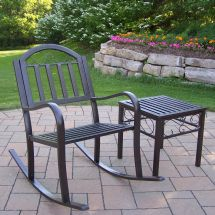 Outdoor Metal Rocking Patio Chairs