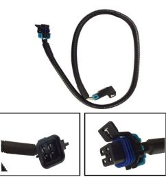 details about 4 pin 36 oxygen sensor extension wire harness black square for ls1 camaro [ 1000 x 1000 Pixel ]