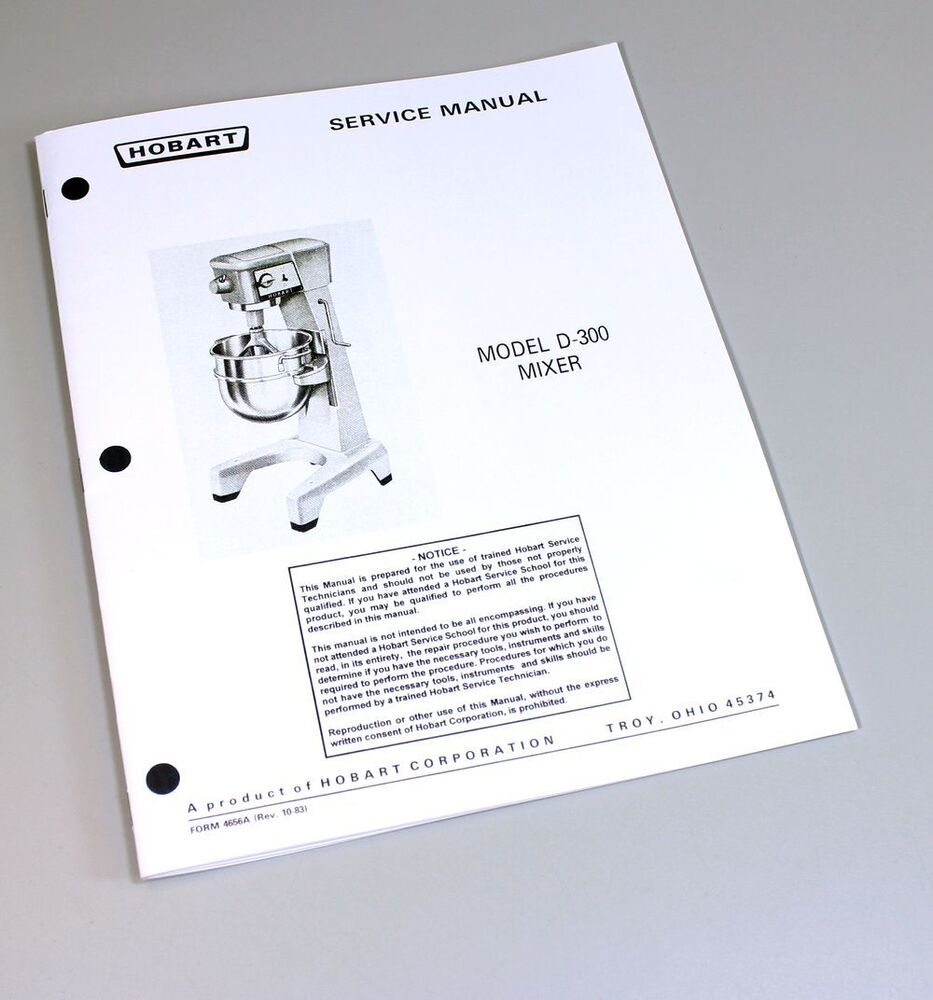 hight resolution of hobart cl64e manuals heritage parts