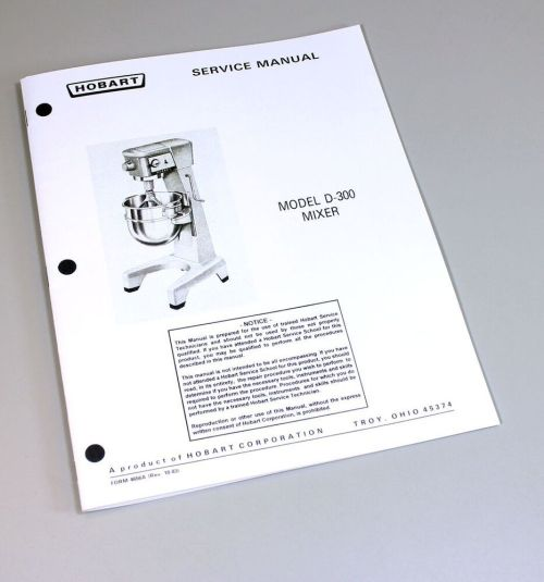 small resolution of hobart cl64e manuals heritage parts