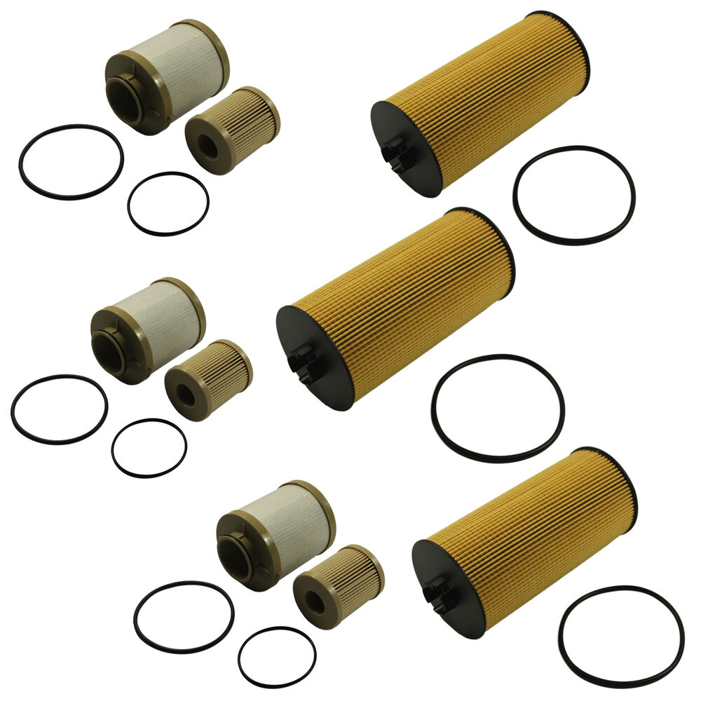 hight resolution of details about diesel fuel oil filter replacement 3 of each for ford turbo 6 0l fl2016 fd4616