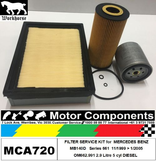 small resolution of details about filter kit air fuel oil for mercedes mb140d om662 991 2 9l diesel 11 1999 1 05