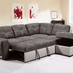 Pull Out Sofa Beds Uk Comfort Sleeper By American Leather Quinto Two-tone Grey Fabric Pull-out Corner Bed With ...