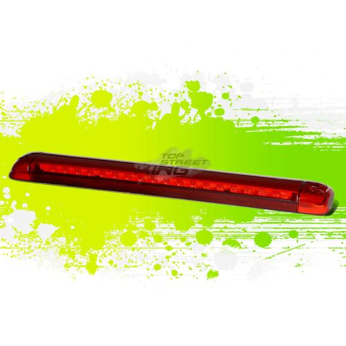 small resolution of details about for 92 04 chevy s 10 suburban red housing roof 3rd high mount brake led light