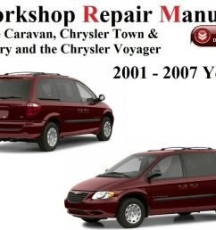 details about chrysler dodge caravan voyager t c 2001 2007 year workshop repair [ 1000 x 798 Pixel ]