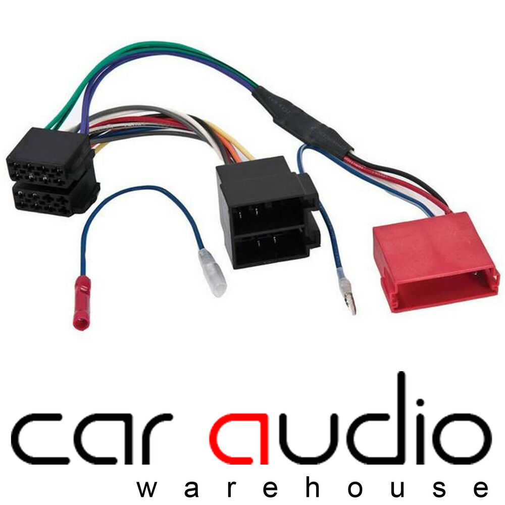 hight resolution of details about audi a3 a4 a6 tt rear speaker amplified bypass car stereo wiring harness cable