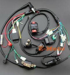details about full electrics wiring harness cdi 50 70 90 110 125cc atv quad bike buggy gokart [ 1000 x 1000 Pixel ]
