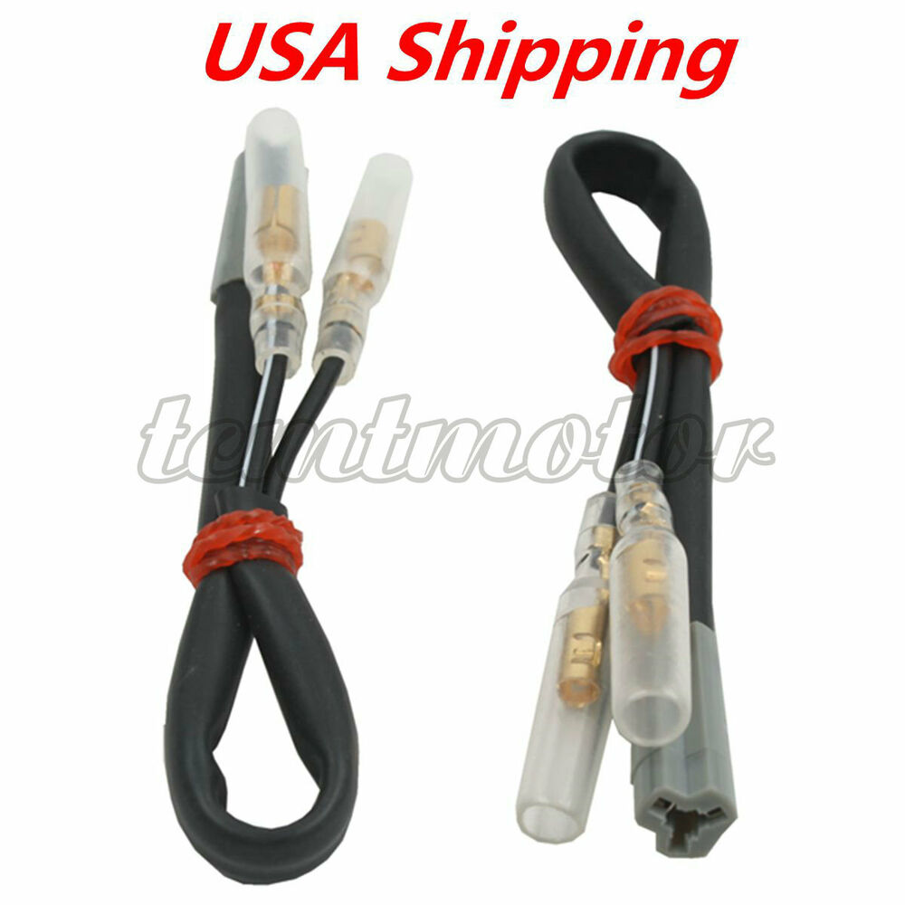 medium resolution of details about turn signal wiring harness connector adapter plug for yamaha yzf r1 r6 98 12 fz1