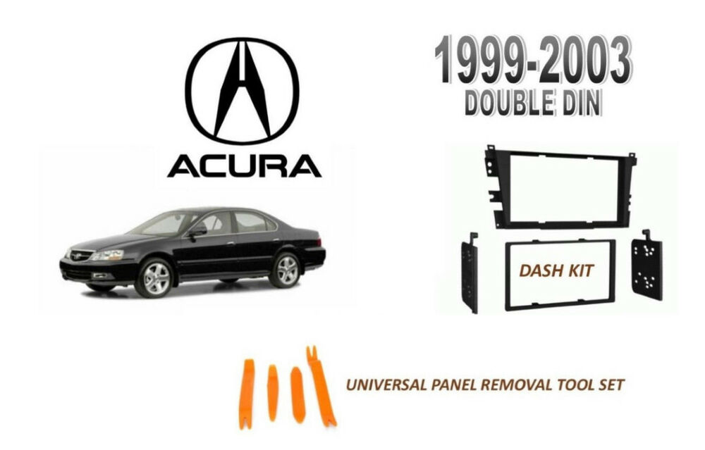 NEW Fits ACURA 1999-2003 TL, 01-03 CL STEREO DASH INSTALL