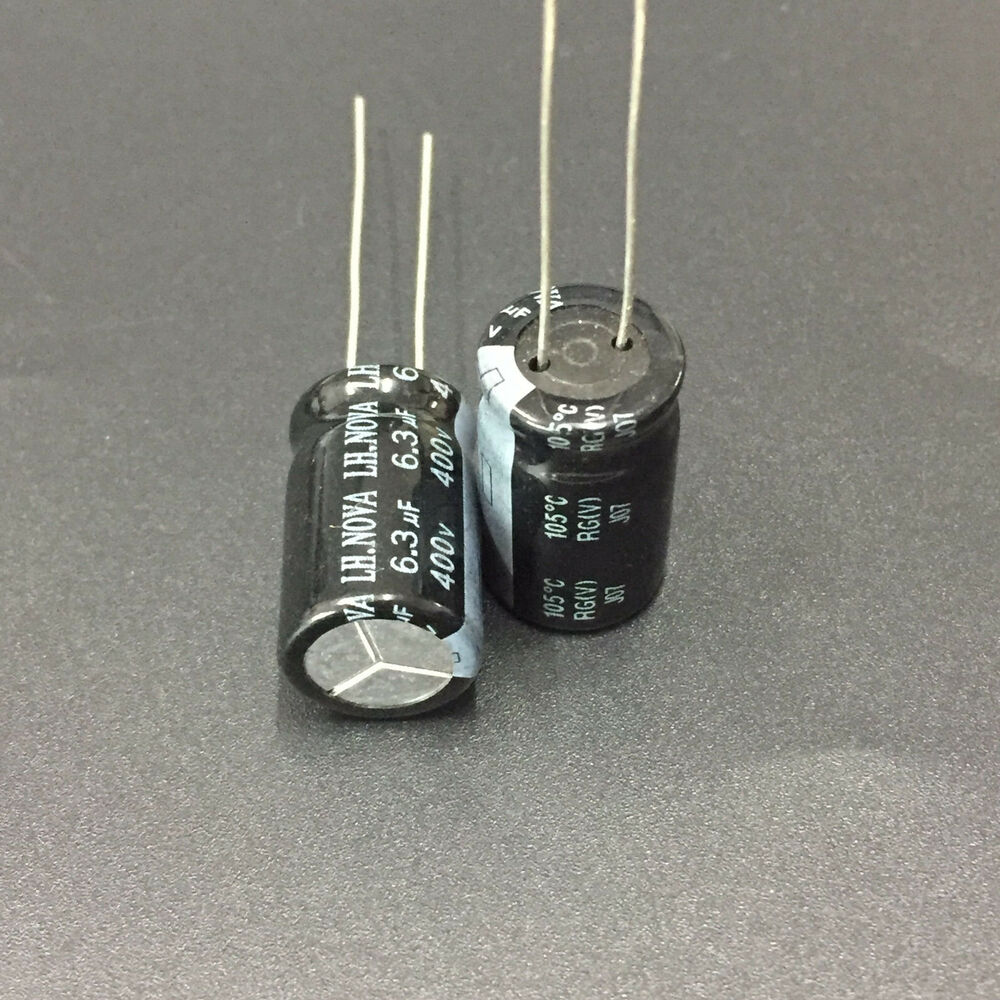 hight resolution of details about 5pcs 6 3uf 400v lh nova rg 400v6 3uf electrolytic capacitor 12 5x20mm