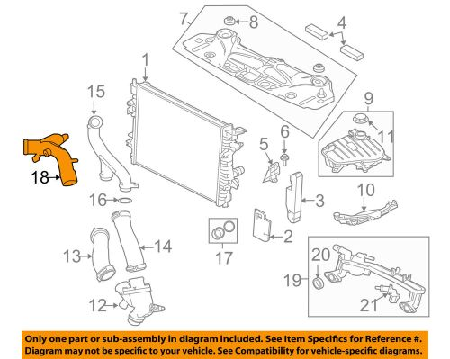 small resolution of details about jaguar oem 13 15 xf radiator water outlet c2z28536